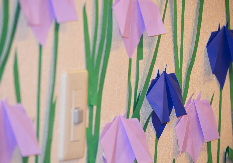 すべての折り紙 折り紙で花を作る : 工作レクリエーション | ブログ ...